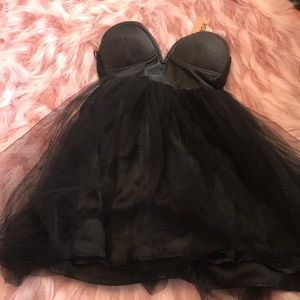 New size Small black Nastygal dress with tags